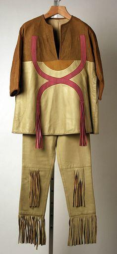 1969 leather Pantsuit, Bonnie Cashin, American