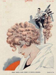 Le Sourire Cover by Pem c.1930