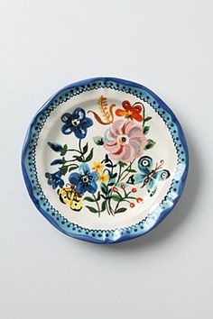 Papillions Plate (Anthropologie)