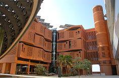 Masdar City, the Masdar Institute of Science & Technology.