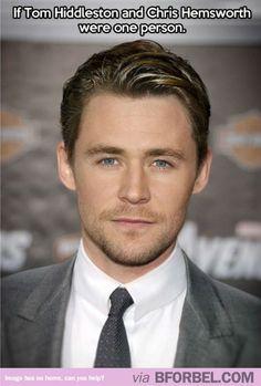 If Tom Hiddleston And Chris Hemsworth Had A Kid…LOL!!!