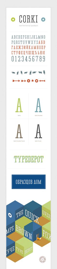 Cool Professional Free Fonts by TypeDepot