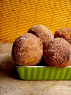 One Sweet Appetite: Baked Pumpkin Donuts