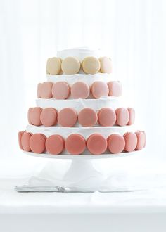 The perfect special event cake! https://www.donnahay.com.au/recipes/desserts-and-baking/macaron-and-vanilla-layer-cake