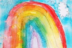 watercolor canva, canva creation, colors, water color, watercolorcanva, preschool, canvases