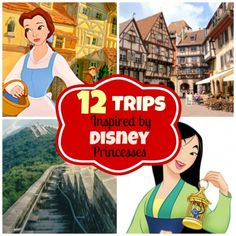 12 Amazing Disney Princess Inspired Vacations!