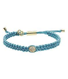 Michael Kors Macrame Pave Fireball Bracelet ..love