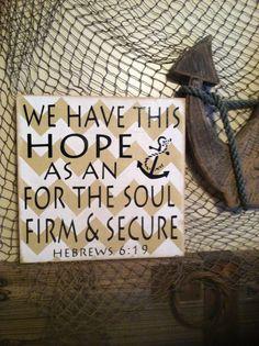 Hope and Anchor via Etsy.