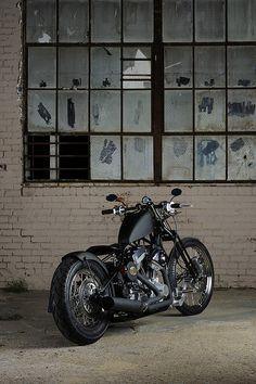 Bobber Inspiration | Bobbers & Custom Motorcycles | Model 1 - 2009 - Brass Balls Bobbers