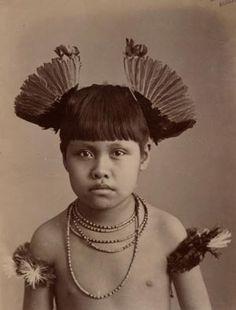 Little boy, Brazilian native, photographed by Marc Ferrez, 1896