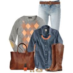 J. Crew, created by immacherry on Polyvore
