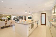 Kitchens on pinterest kitchen backsplash modern for Mcdonald jones kitchen designs