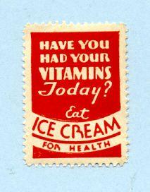 ice cream for health