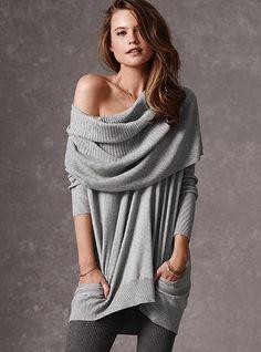Multi-way Tunic Sweater - Victoria's Secret
