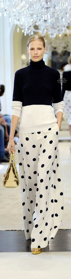 Ralph Lauren Resort 2015; I so wish i was thin enought to wear this!!!!!