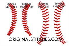 Baseball Stitches, Original Stitches
