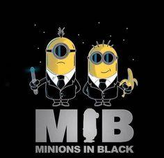 MIB - minions in black