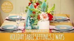 Holiday Table Settin