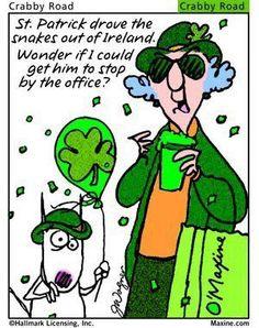 Maxine, St Patrick's Day