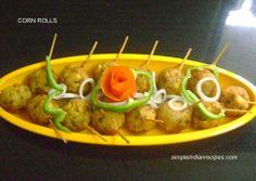 Corn Rolls - Makai Koftas - Corn Balls | Simple Indian Recipes