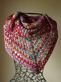 Ravelry: crochetster's Berry Bliss Scarf