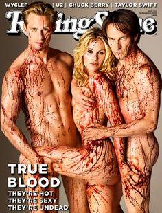 Rolling Stone - True Blood cast.
