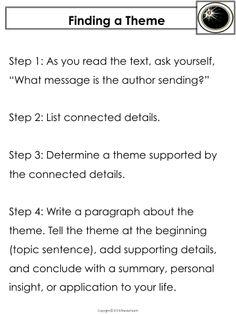 Worksheets Theme Worksheets 5th Grade identifying theme worksheets englishlinx com worksheets