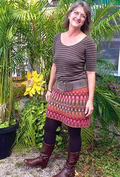 Ravelry: yarnsinthefarms' Inspira Skirt