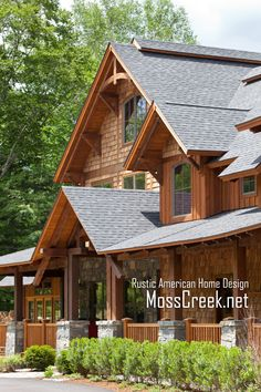 Rustic home exteriors on pinterest cottage home for Rustic board and batten homes