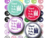 Stand Ye In Holy Places Young Womens Theme 2013 4 x by OldMarket