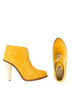 Opening Ceremony   Mustard Suede Boots