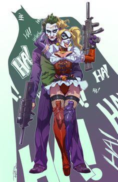Joker and Harley