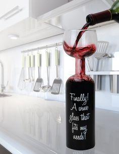 wine glass/bottle