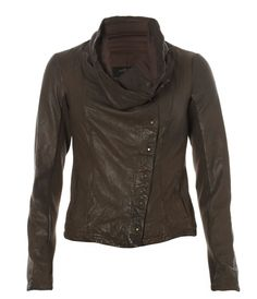 Kaito Leather Jacket, Women, Best Sellers, AllSaints Spitalfields