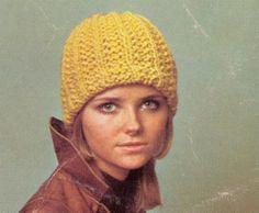 Knit Ribbed Sea Cap Pattern by suerock on Etsy, $3.99