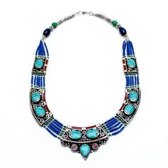 Sernya Tibetan Turquoise Necklace