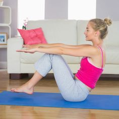 The lower abs—it's the area almost every woman wants to tone, yet it's also one of the hardest areas to tone. But these Pilates-influenced exercises from Rhonda Malkin, a former Rockette, founder of