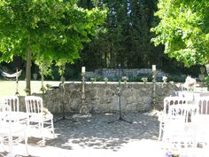 The perfect place for their ceremony at the Bastide St Mathieu, Grasse http://www.annenaylorcelebrant.com/
