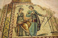 Ancient Roman Mosaic Zeugma, Turkey