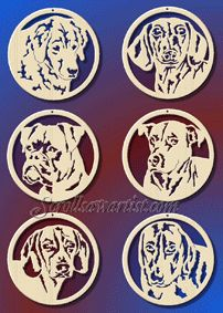free scroll patterns of dogs   Scroll Saw Patterns :: Holidays :: Christmas :: Various ornaments ...