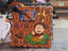 The Great Pumpkin is Coming! - Scrapbook.com - #scrapbooking #minialbums #halloween