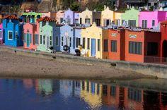 beach bungalows, capitola, monterey bay