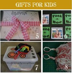 Homemade Christmas Gift Ideas for Kids by lydia