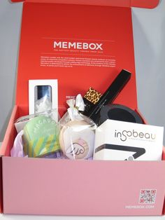 Memebox X Beauty Splurge with Lisa M. Pullano