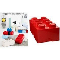 Chambre lego on pinterest 39 pins - Boites rangement lego ...