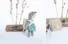 Handmade toys, limited edition dolls, My woodland friends, Popetse Toys
