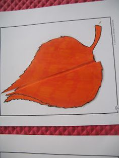 Leaf matching activities