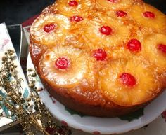 Cherry on a Cake: PINEAPPLE UPSIDE- DOWN CAKE