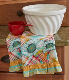 For the Cook Towels made with Free Spirit Fabric from our Spring 2013 issue of Simple Quilts & Sewing.
