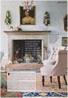 Cool Chic Style Fashion: LIFESTYLE | Una casa nella campagna italiana  my scans :  Elle Italia aprile 2012 #coolchicstylefashion #cool #pink #decor #interior #italia #ellemagazine